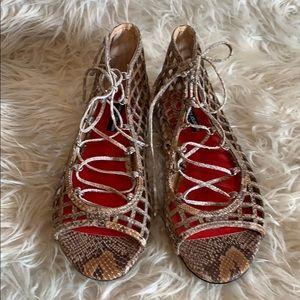 Charles Jourdan Paris sandals, size 10, New.